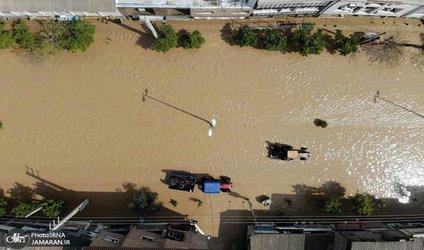 تداوم خدمات امدادی سازمان آتش نشانی شهرداری تبریز تا آخرین لحظه نیاز مردم آق قلا
