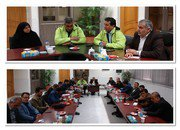 برگزاری جلسه ستاد مدیریت بحران شهرستان شاهین شهر و میمه