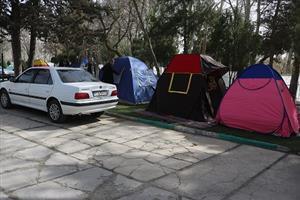 یک هزار ۶۶۶ نفرمسافر نوروزی در پارکهای ملت و نسیم  در سنندج اسکان داده شدند