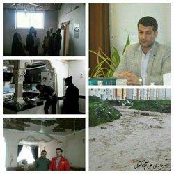 ۹۰ واحد مسکونی آسیب دیده در طوفان و سیل اخیر