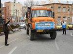 محموله کمکهای مردمی شهرداری ارومیه به مناطق سیل زده استان گلستان اعزام شد