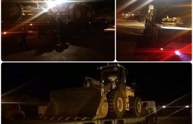 اعزام ماشین آلات راهسازی به مناطق سیل زده به دستور شهردار