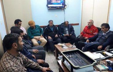 جلسه بررسی آسیب های سیل زدگان روستاهای دامغان