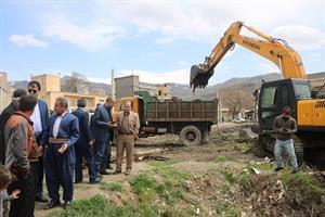 بازدید اعضای شورای اسلامی شهر سنندج از معابر و محلات سنندج
