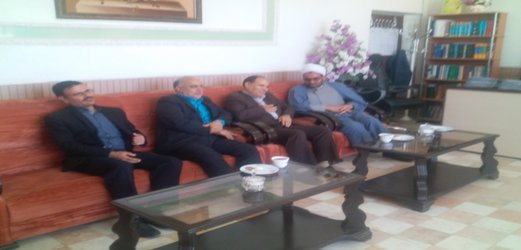 دیدار نوروزی مهندس مهدلو شهردار زرند با رئیس دادگستری
