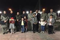 حضور مدیرکل حفاظت محیط زیست استان کرمان وهئیت همراه در مراسم ساعت زمین پاک درمحل پارک گنبدجبلیه