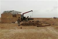 لایروبی چاه مرکز تحقیقات هوبره شهرستان خاتم در دست اقدام است