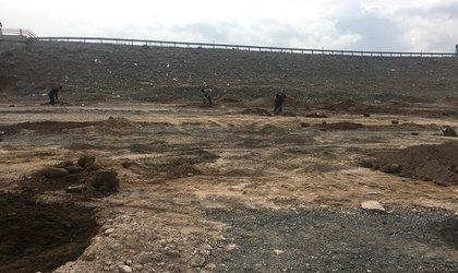 آغاز پروژه ایجاد فضای سبز پل شبدری ورودی آذرشهر
