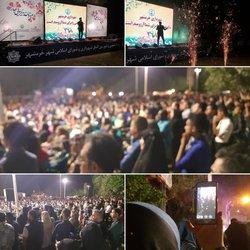 پایان هشت شب جشن بزرگ رویش بهار در خرمشهر با استقبال بی نظیر شهروندان و مسافرین نوروزی