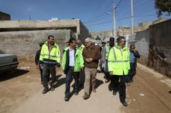 شهرداری حداکثر امکانات خود را برای کمک کردن به مردم سعدی به کار گرفت