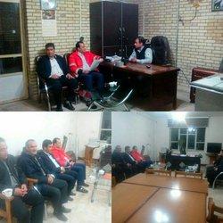بازدید شبانه شهردارآذرشهر از آمادگی نیروهای مدیریت بحران معاونت خدمات شهری