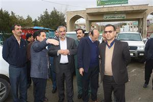بازدید استاندار کردستان از برخی معابر ومحلات سطح شهر سنندج