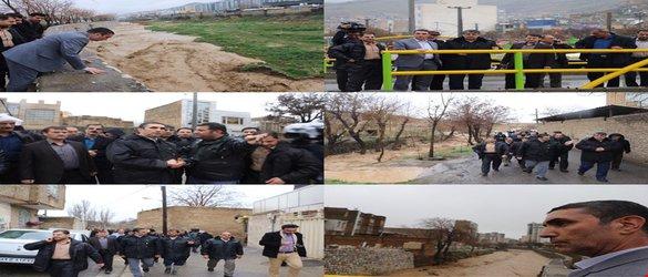 استاندار: در پی بارش های اخیر خسارت وارده به استان مرکزی در مقایسه با استانهای مجاور کمتر است