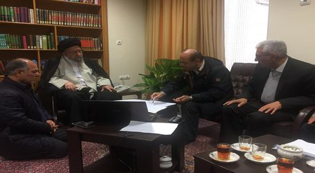 دیدار مدیر عامل شرکت آب منطقه ای گلستان با نماینده ولی فقیه در استان و ارائه گزارشی از روند کنترل سیلاب گلستان