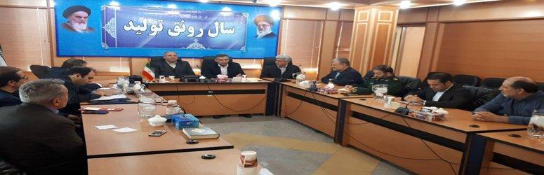 جلسه مدیریت بحران شهرستان ساوه برگزار شد