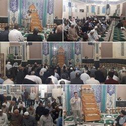ملاقات مردمی داود دارابی شهردار خرمشهر در مسجد جوادین کوی شهید جهان آرا