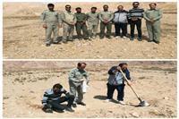 اجرای طرح مقابله با ریزگردها در منطقه حفاظت شده شاسکوه- خراسان جنوبی