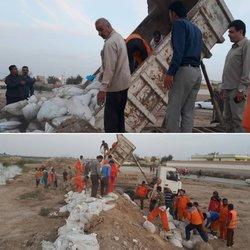 شهردار خرمشهر از تقویت سیل بند احداثی بلوار ساحلی به طول ۱/۵ کیلومتر خبرداد