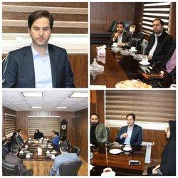 دیدار مهندس علوی رییس شورای اسلامی شهر رشت از شهرداری منطقه ۳