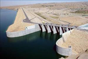 ارتفاع آب سد کرخه ۴ متر بالاتر از تراز نرمال