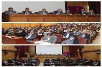 حضور مهندس شاکری درجلسه ستاد فرماندهی اقتصاد مقاومتی استان کرمان با محوریت شرکت های دانش بنیان