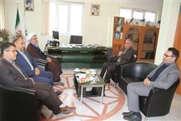 دیدار سرهنگ میرعرب ، رئیس سازمان بسیج ادارات با دکتر کنعانی سرپرست اداره کل حفاظت محیط زیست گلستان