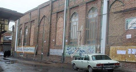 ساماندهی محوطه مسجد حاج کاظم
