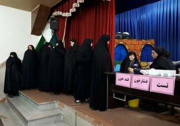 ارائه خدمات غربالگری همزمان با روز جهانی بهداشت برای شهروندان تبریزی
