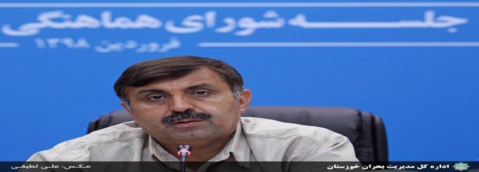 ۲۳۴ روستا در خوزستان بر اثر سیل تخلیه شده اند