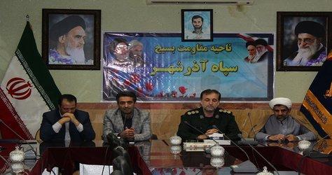 پیام تبریک رئیس شورای اسلامی آذرشهر به مناسبت روز پاسدار
