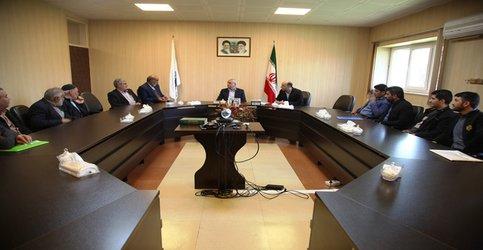 ملاقات مردمی  مدیرعامل شرکت آب منطقه ای قزوین