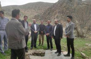بازدید نماینده شهرستان درگز از پروژه آبرسانی روستای قزلق