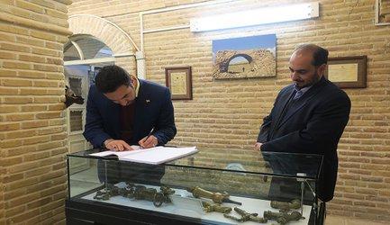 بازدید ۱۶۰۰ نفر از موزه آب شهر اراک در تعطیلات نوروز۹۸