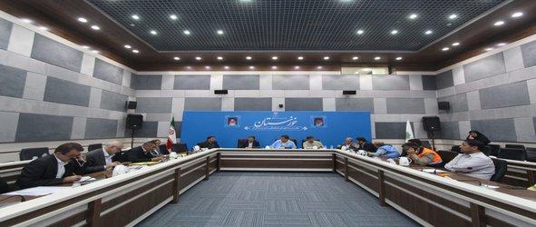جلسه هماهنگی و ارائه گزارش از اقدامات مقابله با سیلاب باحضور اسماعیل نجار