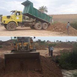 ادامه ایمن سازی روستاها با احداث سیل بند توسط شهرداری خرمشهر