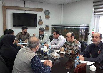 اولین جلسه کارگروه مدیریت و برنامهریزی سازمان آرامستانهای شهرداری قزوین در سال جدید برگزار شد