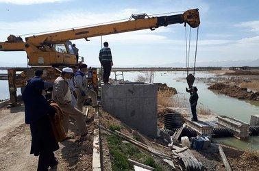 تدابیر اندیشیده شده در گذشته و تلاش های  کنونی  کارکنان شرکت آب و فاضلاب استان مرکزی  در کنترل سیلاب ها و کاهش خسارات وارده به تاسیسات