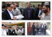 ارسال دومین محموله تجهیزات  امداد و نجات  سازمان آتش نشانی و خدمات ایمنی شهرداری شاهین شهر به مناطق سیل زده استان خوزستان