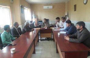 برگزاری جلسه مدیریت بحران در خصوص بررسی وضعیت آب شرب روستاهای تایباد