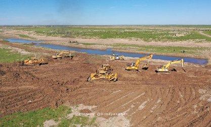 پیشرفت ۹۰ درصدی احداث  کانال سیلاب بر دیگچه
