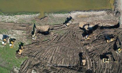 اتمام عملیات احداث  کانال سیلاب بر دیگچه (بندولی)