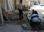 مرمت و اصلاح آب رو محله دیزج سیاوش انجام شد