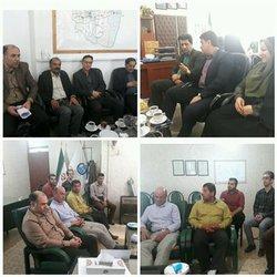دیدار مدیرعامل آبفار گلستان با فرماندار و کارکنان مدیریت آبفار  شهرستان های کردکوی و بندرگز