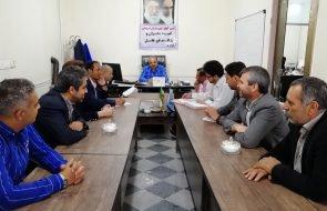 جلسه کمیته بحران و پدافند غیرعامل در امور آبفار فریمان برگزار شد