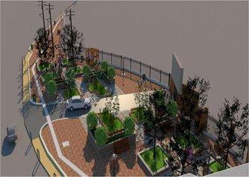 طراحی فضای شهری در ضلع جنوب غربی راستگرد تقاطع شهید بابایی و بلوار شهبد بهشتی به پایان رسید