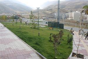سال گذشته ۱۳ هزار متر مربع فضای سبز در سطح منطقه یک سنندج احداث شد