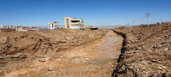 ۳۰۰۰ متر کانال جدید هدایت سیلاب در بجنورد حفر شد