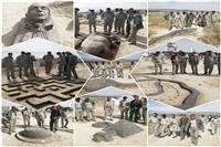 برگزاری دومین جشنواره ملی مجسمه های نمکی در محل تالاب کجی نمکزار نهبندان – خراسان جنوبی