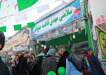 جشن بزرگ نیمه شعبان در محله مینودر قزوین برگزار شد