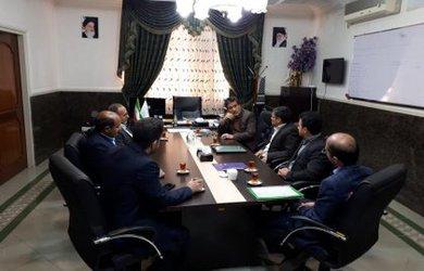 دیدار کارشناسان دفتر امور شهری و شوراها استانداری با شهردار دامغان